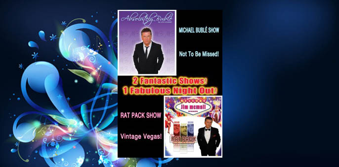 Jim McMail is the Rat Pack and Michael Buble at The Hibs Club