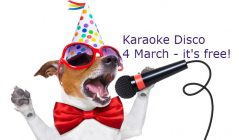 Karaoke and disco at The Hibs Club
