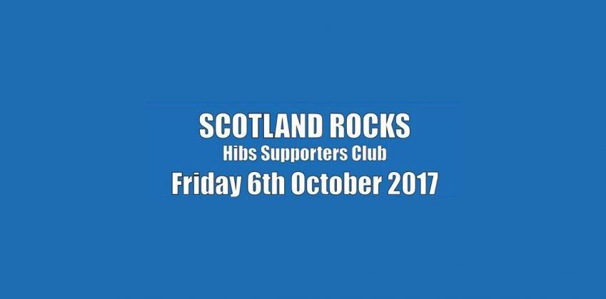 Scotland Rock, 6 October, The Hibs Club