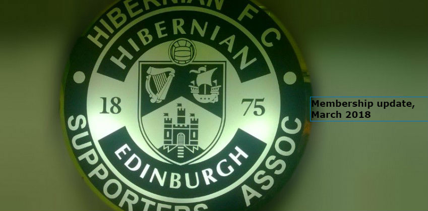 Hibs Club membership update