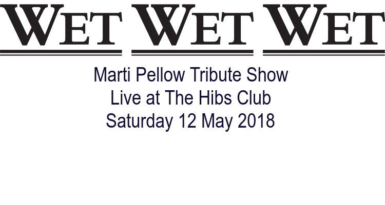 Marti Pellow Tribute Show at The Hibs Club