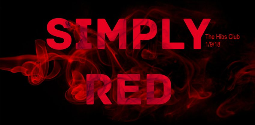 Simply Red tribute, live at The Hibs Club