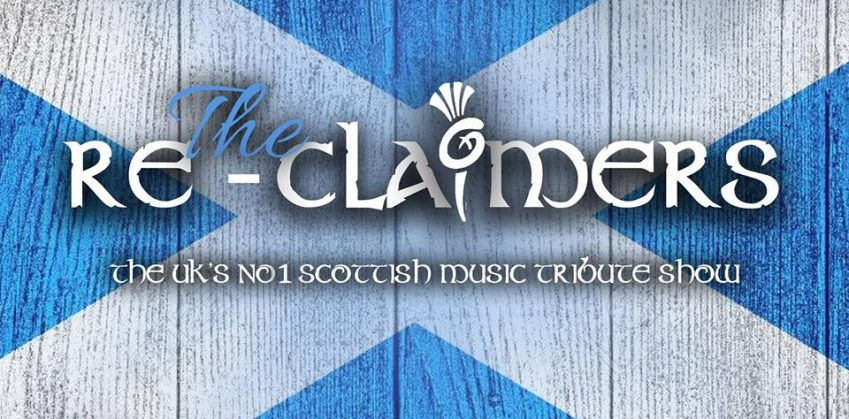 Re-Claimers tribute show at The Hibs Club