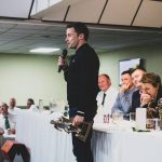 Lewis Stevenson at The Hibs Club