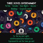 Three Doves Entertainment, Hibs Club advertising partner
