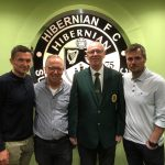 Paul Heckingbottom, Robbie Stockdale at The Hibs Club