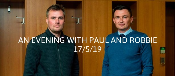 An evening with Paul Heckingbottom and Robbie Stockdale